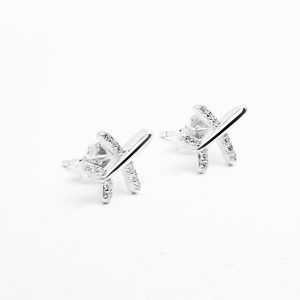 orecchini aereo argento 925