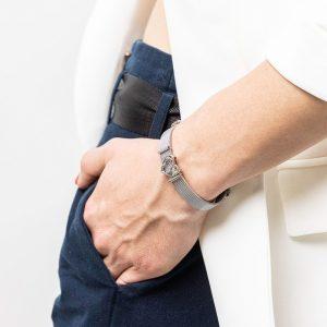 bracciale mondo regolabile per chi ama viaggiare