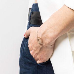 bracciale mondo gioielli per chi ama viaggiare